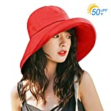 Kodi uvカット 帽子 レディース ハット キャップ 紫外線対策 日よけ ファッション 通気 つば広 カジュアル 小顔効果 - Best Reviews Guide