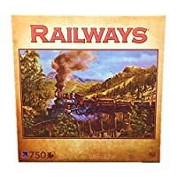 Railways Logging Train 750 Piece Jigsaw Puzzle by Kevin Daniels by Sure-Lox [並行輸入品]