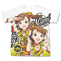 THE IDOLM@STER ワンフォーオール 双海亜美・真美 フルグラフィック Tシャツ ホワイト Mサイズ