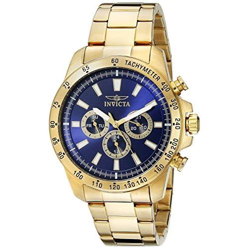 [インヴィクタ]Invicta 腕時計 Speedway GoldTone Stainless Steel Watch with Link Bracelet 20339 メンズ [並行輸入品]