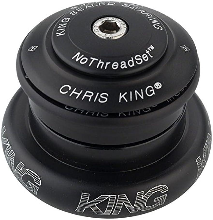 霜ハリウッド興味クリスキング(Chris King) INSET7 MAT JET FJ0058