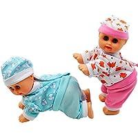人形おもちゃ – coerni ElectricクロールTalking Singing Dancing Baby Toy