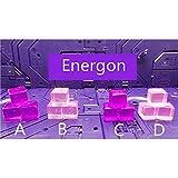 JQ trend おもちゃ エネルギーに四角い板 16mm×16mm 12点セット (画像色)