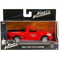 98320【1/32 Fast & Furious -Brian Ford F150 SVT LIGHTNING(Red)】映画ワイルドスピード JADATOYS(ブライアンF-150) [並行輸入品]