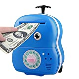 Best 子供のための電子玩具 - (Blue) - Shopline Piggy Bank for Kids, Electronic Review