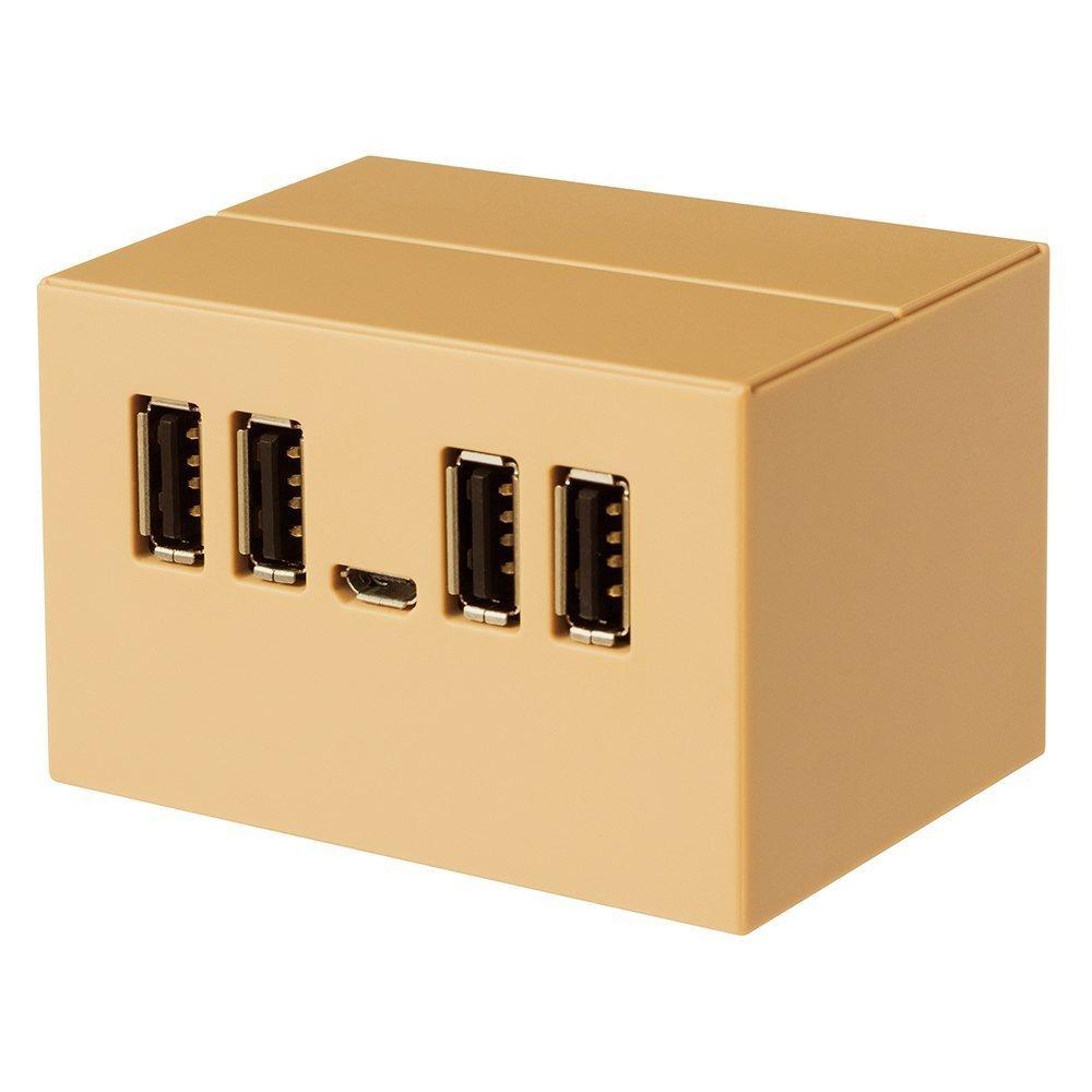 PLANEX DANBOARD USB HUB DB-HUB01 バスパワー USB2.0/1.1 4ポート USBハブ