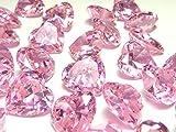 直径10mm×3個set ハートシェイプ 最高品質AAAAAキュービックジルコニア ルース 裸石 10ミリ お選びいただきご注文下さい (ピンク)