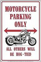 なまけ者雑貨屋 Motorcycles ブリキ メタル プレート サイン アンティーク アメリカン ダイナー レトロ インテリア 雑貨 ガレージ 看板