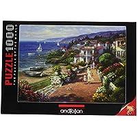 1000ピース ジグソーパズル Perre Group 海の遊歩道 Ghambaro: Coastal Tranquilty 48×66cm 3103