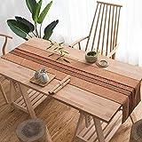 テーブルランナー、キッチンモダンシンプルダイニングクロステレビキャビネットカバータオルコーヒーテーブルウェディングディナーパーティー (Color : B, Size : 30*160cm)