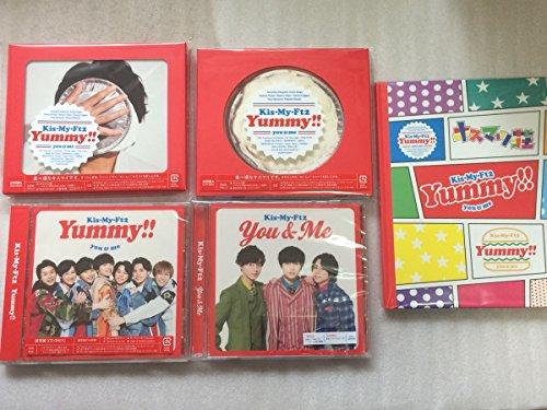 Kis-My-Ft2/Yummy!! (初回盤A+B+通常盤)+You&Me (セブン限定 77,777枚完全限定生産) 4枚セット (特典:オリジナルフォトアルバム)