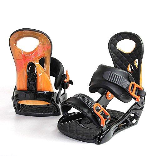 14C1 BINDING スノーボード ビンディング【 ALPENSTERN / アルペンスターン 】 snowboard バインディング メンズ レディース (ORANGE, M size)