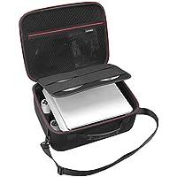 RLSOCO PS4 slim/ps4スリム ケース  ps4 slim バッグ PlayStation 4 slim コンソール、 ps4 slimコントローラー、ps4 slim ヘッドセット、ワイヤレスリモコン、ケーブルなど対応 大容量 ぴったり収納