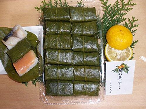【奈良名物】【よしの弁天屋】柿の葉すし 12個入り(鯖6鮭6)