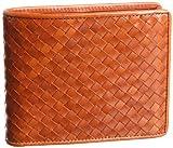 レザーメッシュ二つ折り財布 オリーチェ画像②