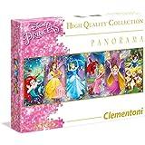 1000ピース ジグソーパズル Clementoni 女王 Panorama Princess 33×98cm 39390