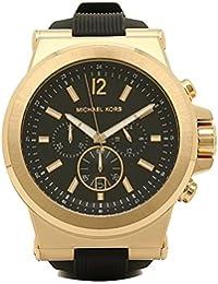 マイケルマイケルコース 時計 メンズ MICHAEL MICHAEL KORS MK8445 DYLAN ディラン クロノグラフ 腕時計 ウォッチ ブラック/ゴールド [並行輸入品]
