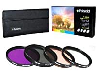 Polaroid Optics 37mm 4 Piece Filter Set (UV, CPL, FLD, WARMING) [並行輸入品]