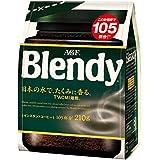 AGF ブレンディ 袋 210g 【インスタントコーヒー】 【詰め替え】 【大容量】