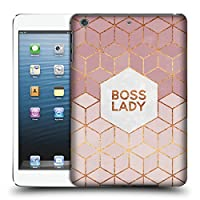 オフィシャルElisabeth Fredriksson Boss Lady タイポグラフィ iPad mini 1 / mini 2 / mini 3 専用ハードバックケース