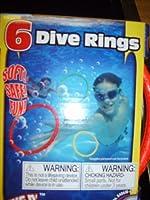Grab N' Dive 6 Dive Rings [並行輸入品]