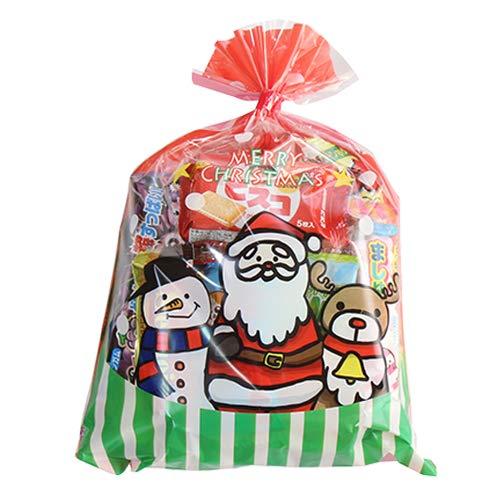 クリスマス袋 400円 お菓子 詰め合わせ(Dセット) 駄菓子 袋詰め おかしのマーチ