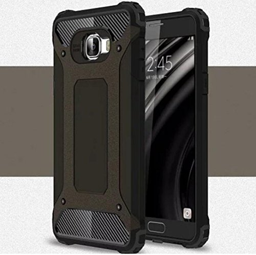 Galaxy Grand Prime Plus/J2 Prime ケース, Super Cool Shield Premium Dual Layer Hybrid Shockproof Armour カバー, TAITOU Outdoor Sport Protect Armor Phone ケース For Samsung Galaxy G532 Black