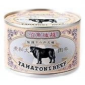 ホリカフーズ 越後魚沼 牛肉大和煮 160g缶 1ケース(24缶入)