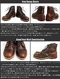 8111 IRON RANGE BOOTS(アイアンレンジブーツ) Amber Harness Leather レッドウィング画像⑧