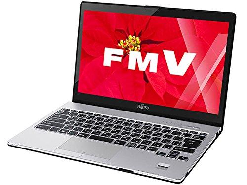 富士通 13.3型ワイド ノートPC LIFEBOOK SH90/W [Office付き] FMVS90WB (スパークリングブラック) -