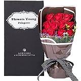 Fiore d'Amour  枯れない花 フラワーソープ 造花 大切な人に気持ちを伝える花束 バレンタイン 母の日 誕生日 ホワイトデー 入..