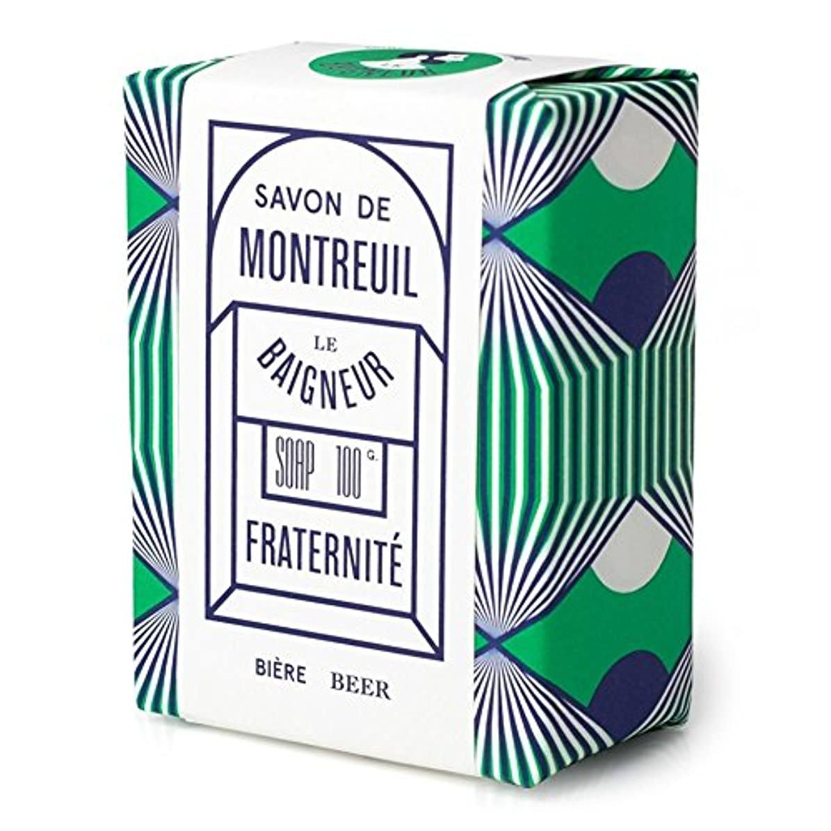 皮モードリン掃くLe Baigneur Fraternite Soap 100g - ル 石鹸100グラム [並行輸入品]