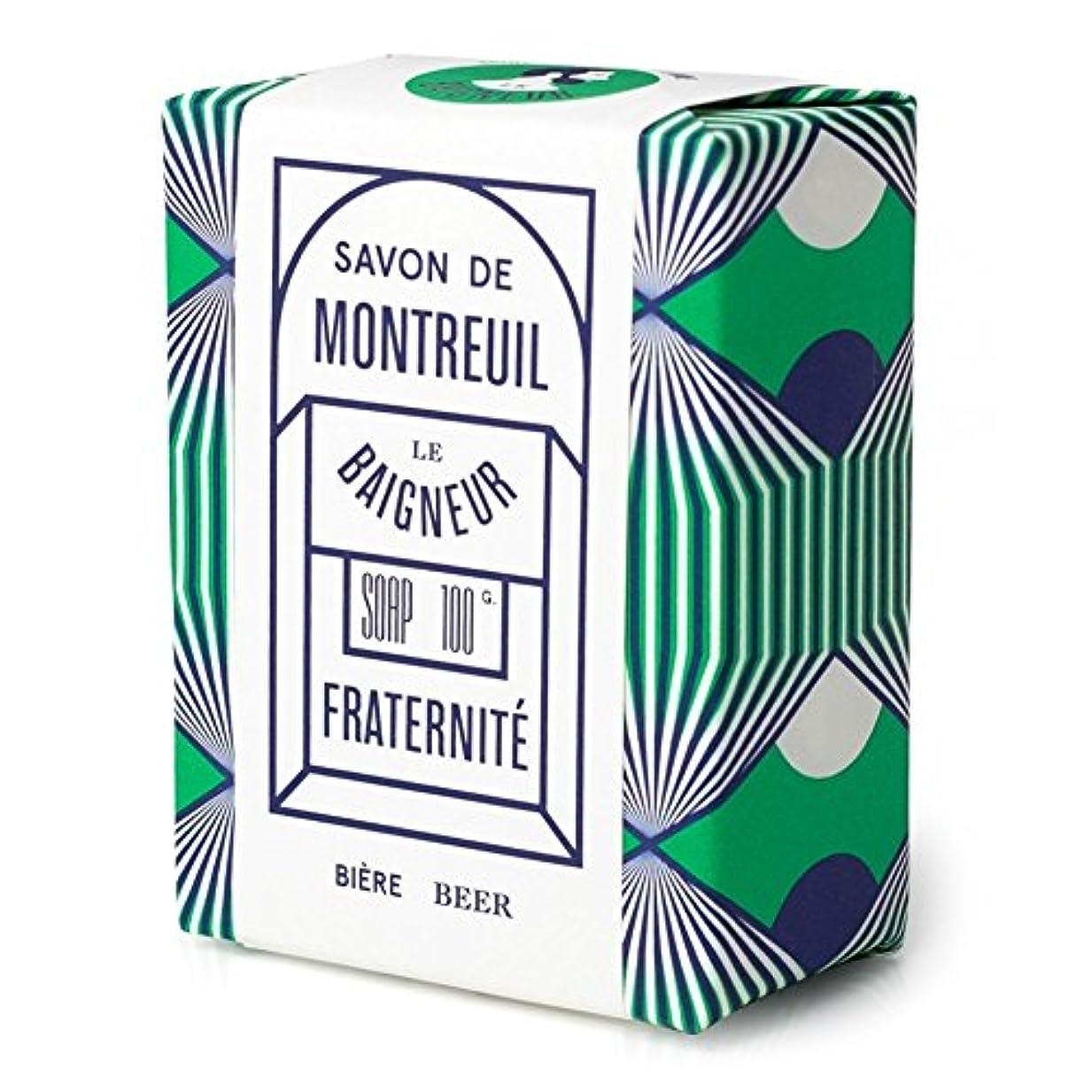 周術期ホストロッドル 石鹸100グラム x2 - Le Baigneur Fraternite Soap 100g (Pack of 2) [並行輸入品]