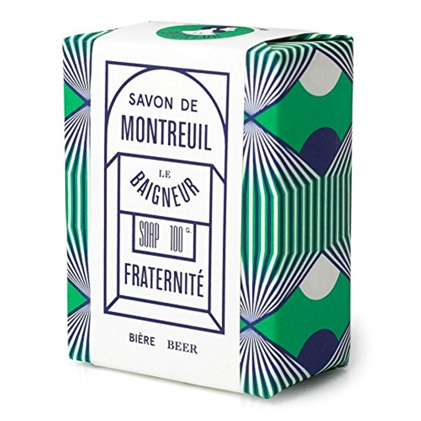 辞任ダーベビルのテスモノグラフル 石鹸100グラム x4 - Le Baigneur Fraternite Soap 100g (Pack of 4) [並行輸入品]