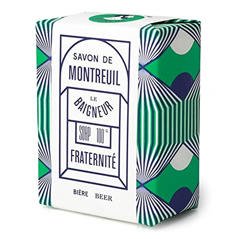 テクスチャーやりがいのあるサスティーンLe Baigneur Fraternite Soap 100g - ル 石鹸100グラム [並行輸入品]