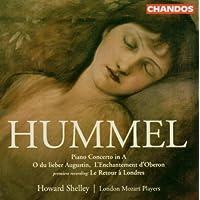 Hummel: Piano Concerto, Eight Variations & Coda