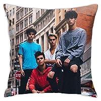 上野Dobre兄弟枕カバーを投げる - 枕カバーホーム装飾的な正方形のクッションカバー18 x 18インチ両面印刷