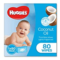 Huggies Coconut Scented 80 Wipes