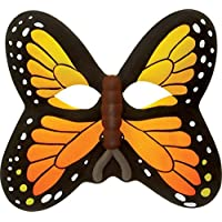 Orange Butterfly Eva Foam Face Mask By Wild Republic!