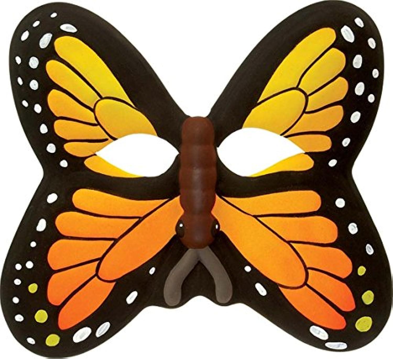 Orange Butterfly Eva Foam Face Mask By Wild Republic!