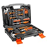 TACKLIFE HHK1A 工具セット 42PCS 作業道具セット 家庭修理&作業用 収納ケース付き