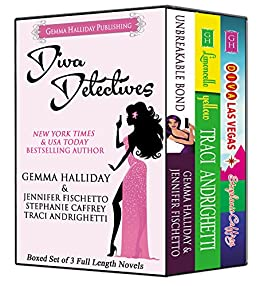 Diva Detectives: Boxed Set of 3 Full Length Mystery Novels by [Halliday, Gemma, Fischetto, Jennifer, Caffrey, Stephanie, Andrighetti, Traci]