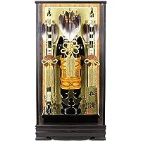 破魔弓 ケース飾り 松濤 20号 かぶせケース 面取ガラス h311-fz-1211-20-700