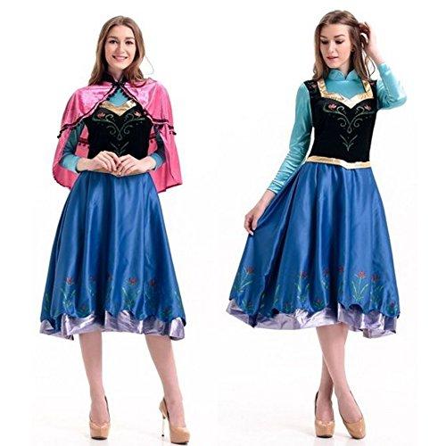 monoii 雪の王女 コスプレ 衣装 プリンセス ドレス コスチューム 454