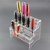 アクリル製の3列ツールスタンド 組み立て式