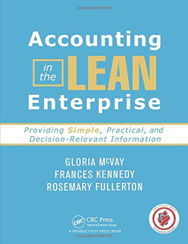 Download Accounting in the Lean Enterprise 1420088580
