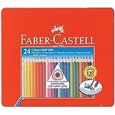ファーバーカステル グリップ付色鉛筆24色セット TFC-112423