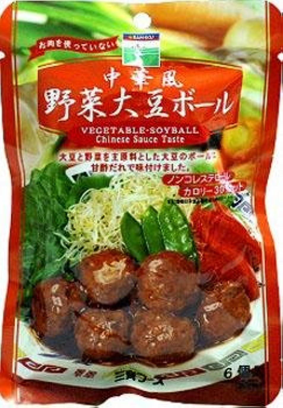 ブレースステップ洞察力のある飲食品 お勧め 口コミ 中華風野菜大豆ボール?完熟トマトソース野菜大豆ボール?和風野菜大豆ボール×各8個セット