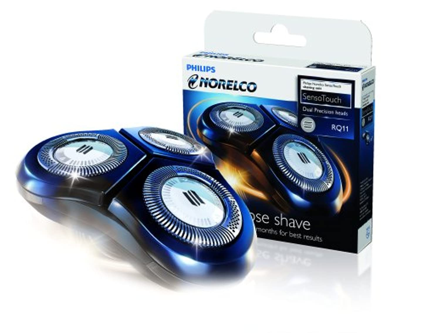 窒素スキャントリムPhilips Norelco RQ11 Replacement Head for SensoTouch 2D by Philips Norelco [並行輸入品]