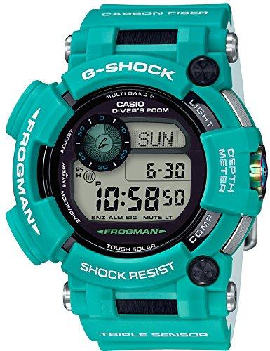 [カシオ]CASIO 腕時計 G-SHOCK ジーショック FROGMAN マスターインマリンブルー 電波ソーラー GWF-D1000MB-3JF メンズ